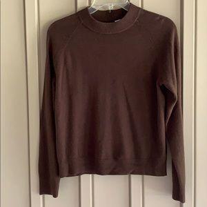 Mercer Street Studio Brown Petite Sweater size Medium